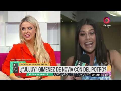 ¿'Jujuy' Gimenez de noviacon Del Potro?