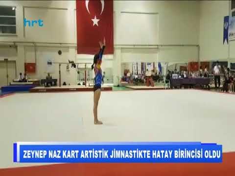 Zeynep Naz Kart Artistik Jimnastikte Hatay Birincisi Oldu