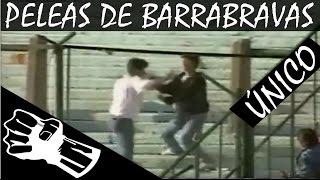 peleas barras bravas argentinas dentro de estadios - VIOLENCIA EN EL FUTBOL
