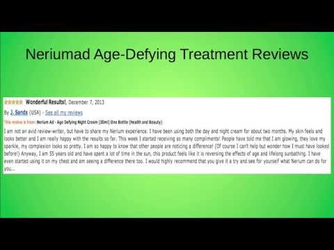 Neriumad age-defying treatment reviews