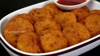 ഉടന ചയത നകക പതയ രചയൽ ഒര കരസപ സനകകസ  Crispy Potato Snacks  Aloo Suji Snacks