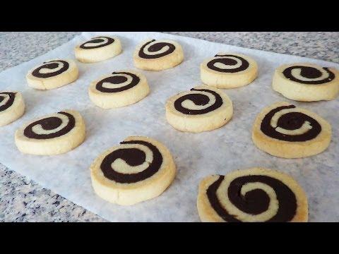 CHOCOLATE PINWHEEL COOKIES! (Recipe Tutorial)