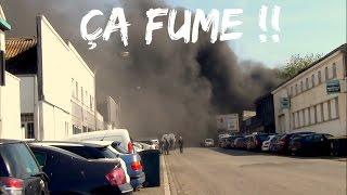 Au Feu ! ; Ça Fume Noir Au Port De Pêche de Lorient ; Loi Travail ; Morbihan ; Bretagne ; France