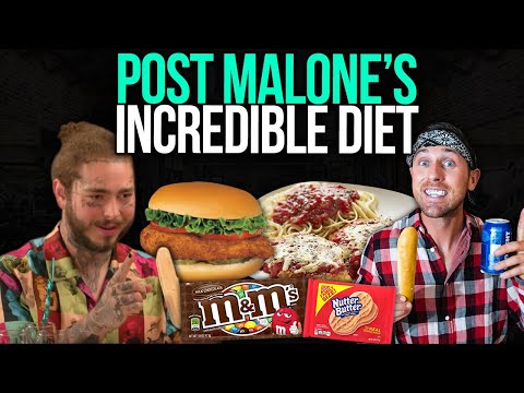i tried POST MALONE&39;S incredible Diet  MUST WATCH