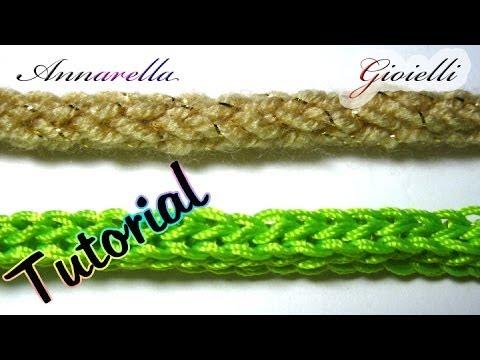 Tutorial Tubolare Tricotin Alluncinetto How To Crochet An I