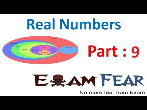 CBSE NCERT Class 10 Maths Real Numbers
