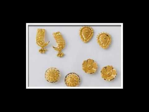19fa3fb3c 2 to 4 Gram gold earrings New Collection 2018 Offer price - YouTube