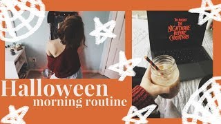 (super extra) Halloween Morning Routine '18   Audrey Ann