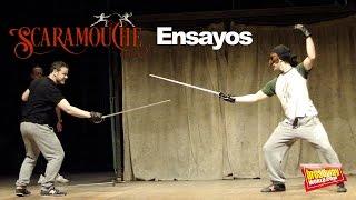 SCARAMOUCHE, EL MUSICAL - Ensayos en el Teatre Victòria