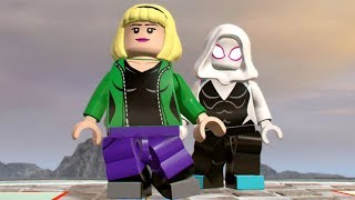LEGO Marvel Super Heroes 2 - Gwen Stacy (Spider-Gwen) - Open World Free Roam Gameplay HD
