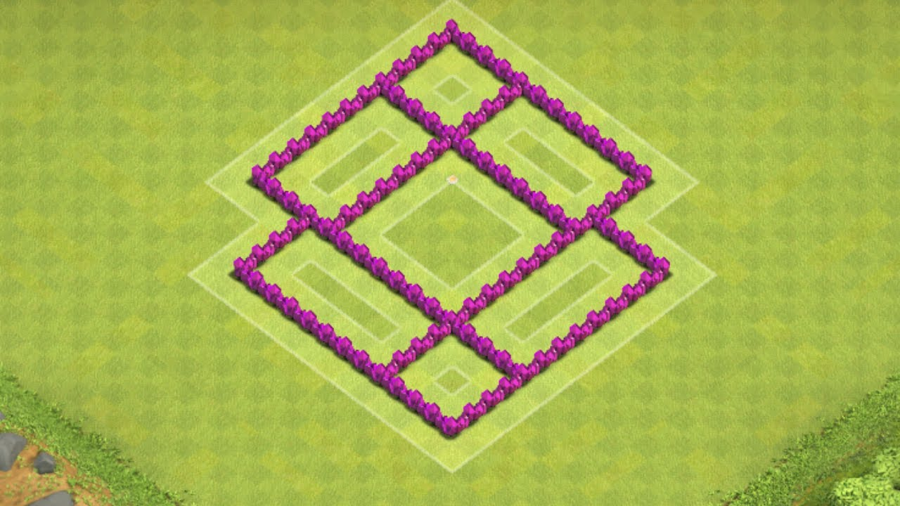 Clash of clans best town hall 5 farming base th5 speed build