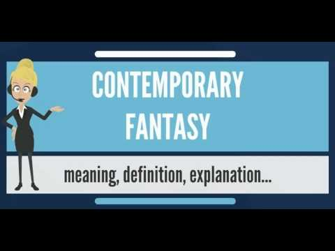 What is CONTEMPORARY FANTASY? What does CONTEMPORARY FANTASY mean ...