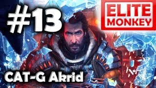 Lost Planet 3 - Walkthrough Part 13 - CAT-G Akrid Boss [Commentary] [HD PC]