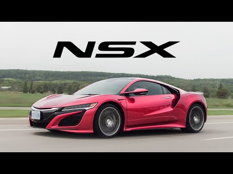 2018 Acura NSX Review The Best Everyday Supercar