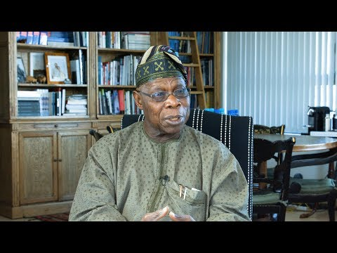 Former President of Nigeria, Chief Olusegun Obasanjo shares his views on power dynamics in Africa