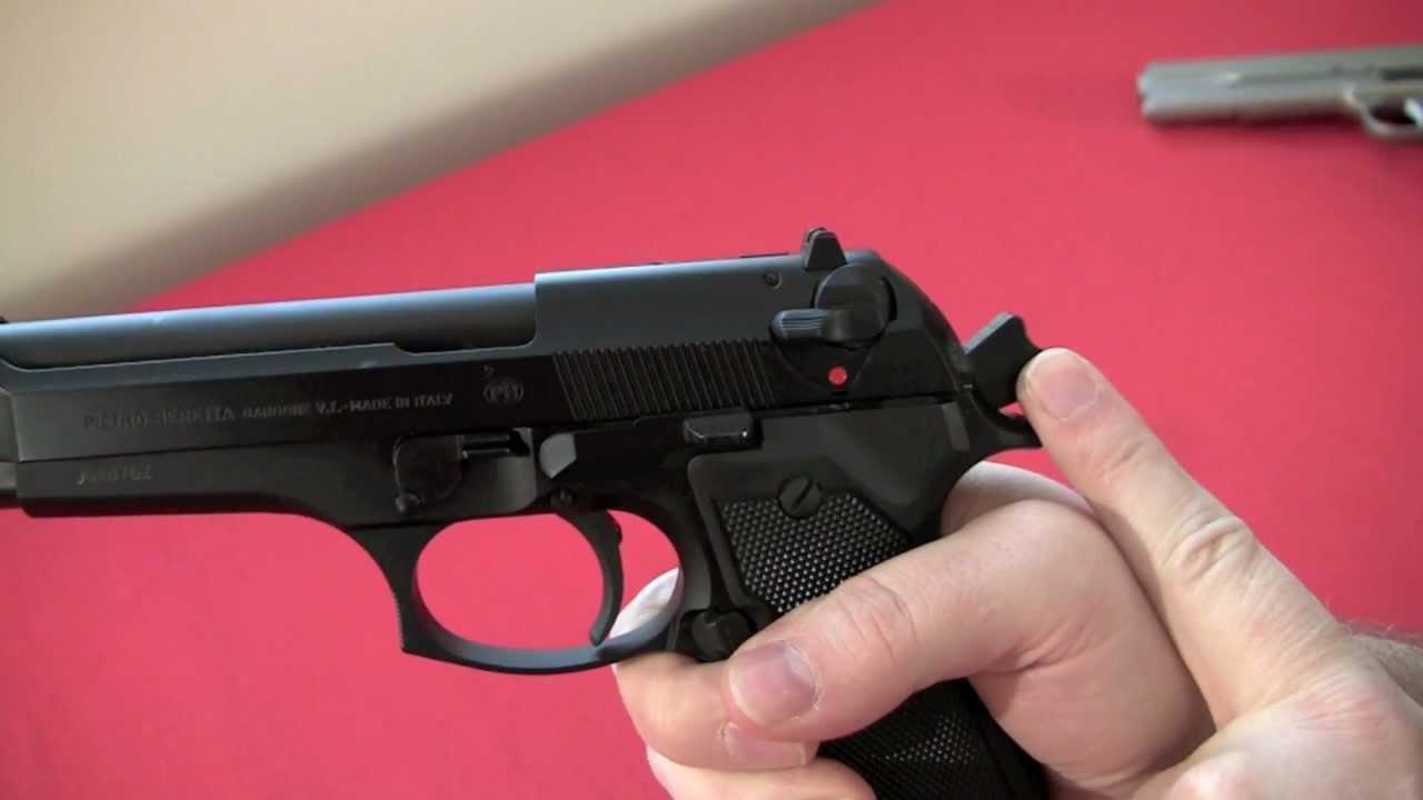 Beretta 92FS Review, Crucible Arms