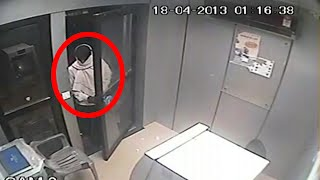 real ghost video   ghost in atm room   real ghost caught on camera   tape 9
