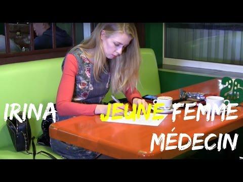 Irina jeune femme médecin en Ukraine ❤ Agence CQMI