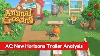 Animal Crossing New Horizons Trailer Analysis
