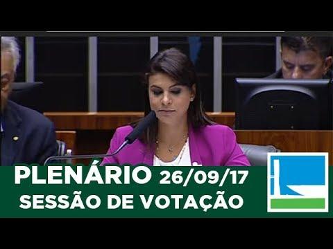 PLENÁRIO - Leitura da denúncia contra o presidente Michel Temer - 26/09/2017