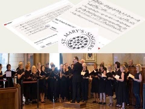 Saint-Saens - Oratorio de Noel - Tollite - SATB