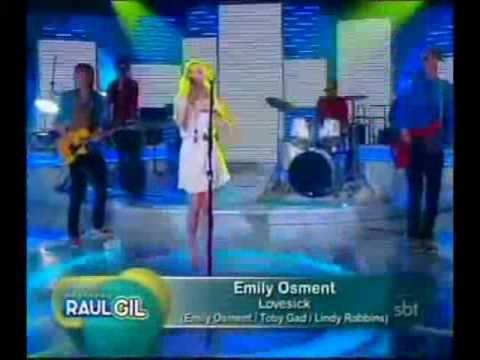 Emily Osment - Love Sick (Live on Programa Raul Gil)