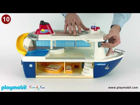 PLAYMOBIL Instruction - Cruise Ship (6978)