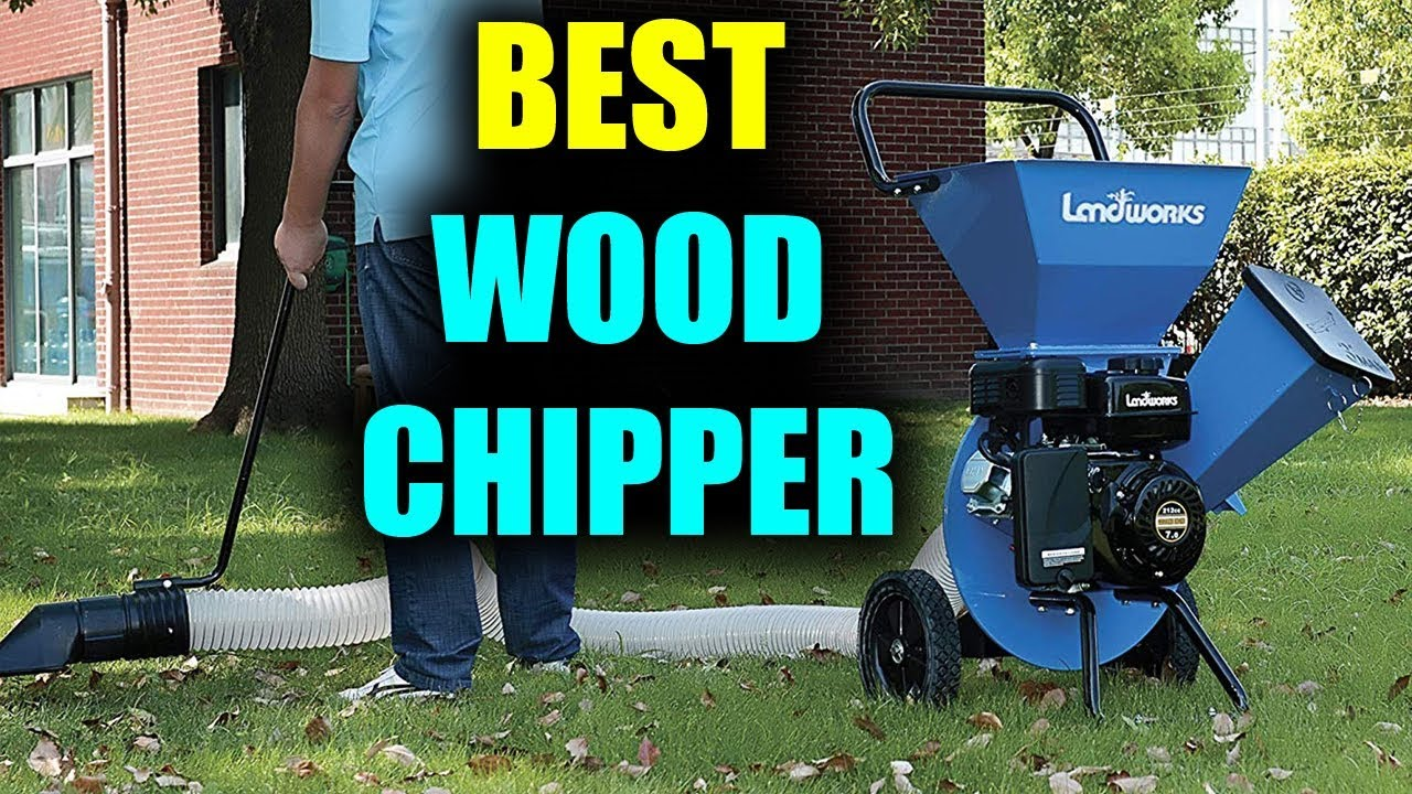Gas Powered Timber Chipper Shredder by Landworks