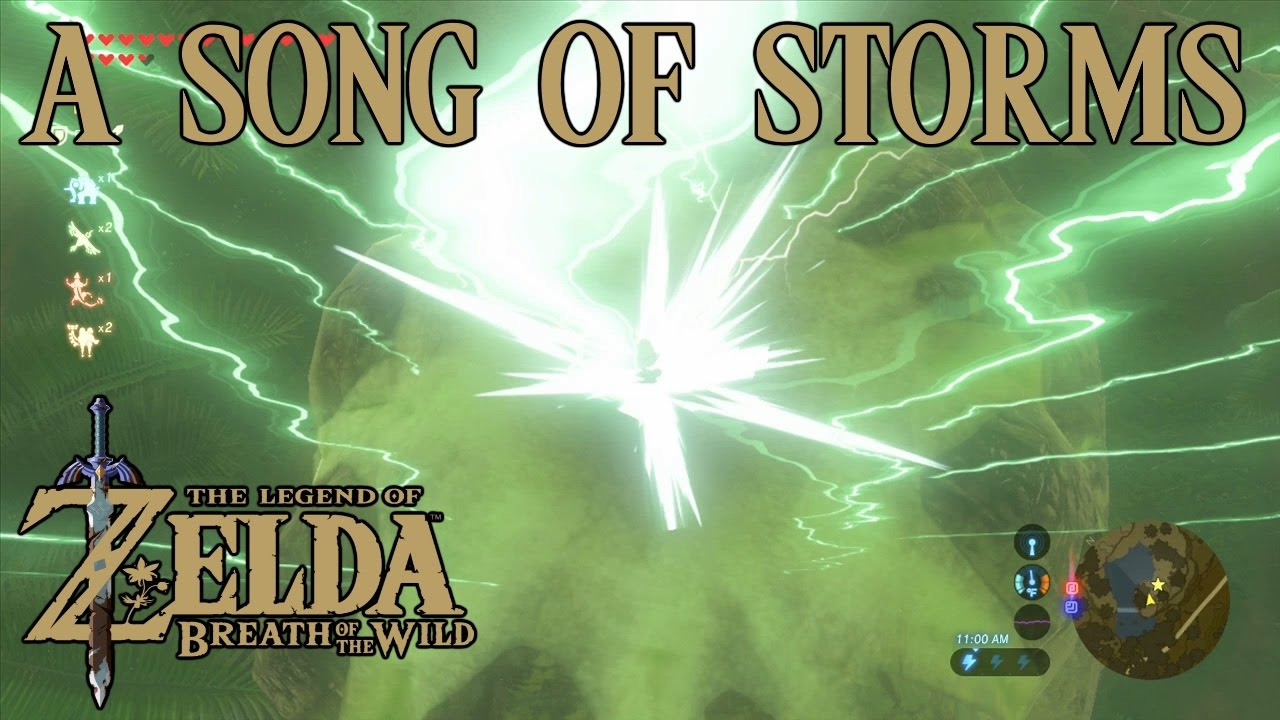 Zelda Breath Of The Wild Playthrough A Song Of Storms Qukah Nata