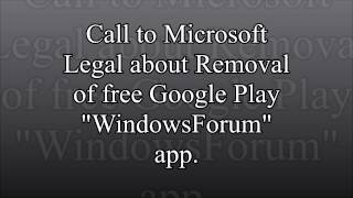 Microsoft Removes Free Windows Support App from Google Play