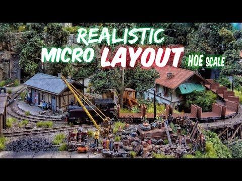 Micro Layout 60 x 60 cm HOe 1:87 – Roco HOe