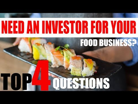 How to start a Food Business How to get investors to invest thumbnail