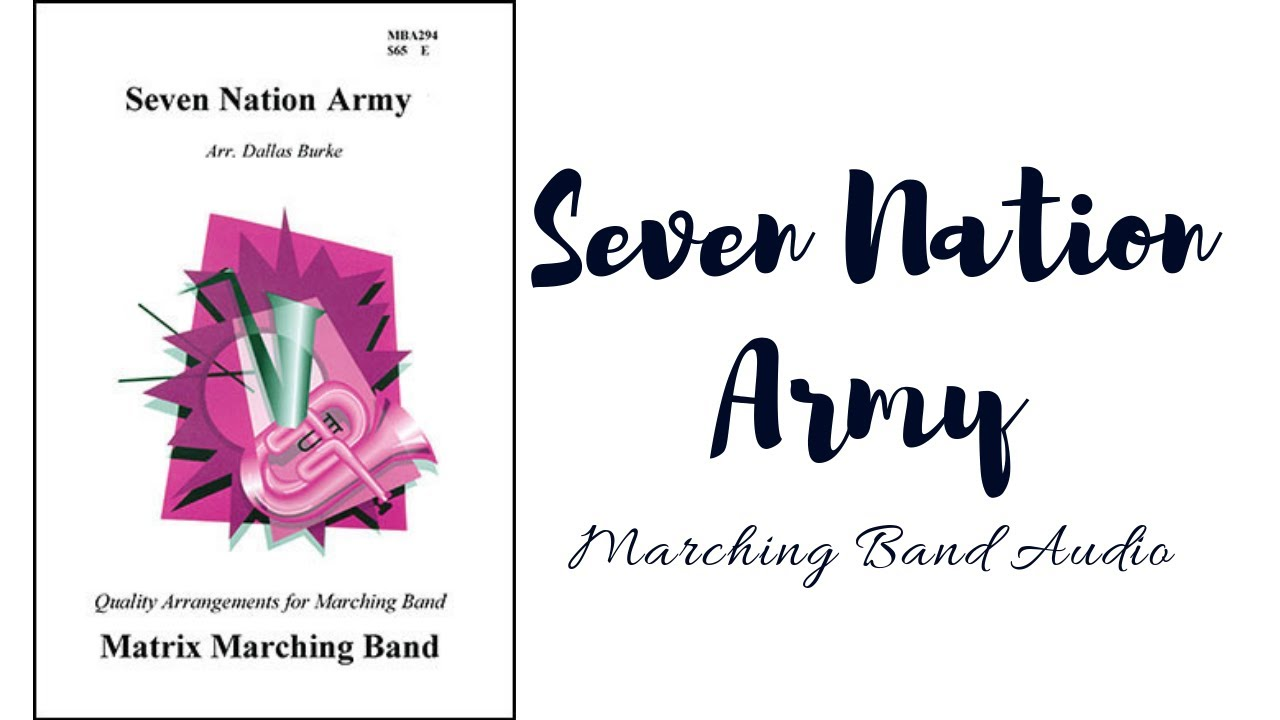 seven nation army marching band pdf