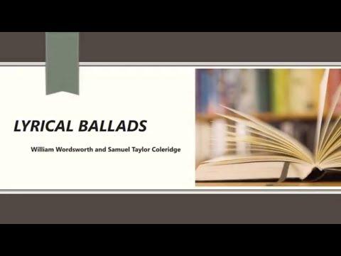 Lyrical Ballads by William Wordsworth & Samuel Taylor Coleridge | Part 1