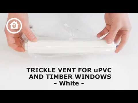Trickle Vent For uPVC  and Timber Windows