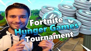 Fortnite Hunger Games Tournament! - 2k Subs Giveaway