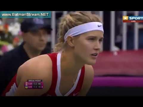 Fed Cup Bouchard - Tsurenko (Canada - Ukraine) live stream youtube