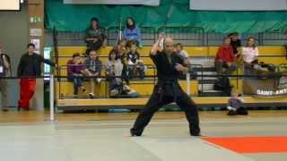 Pierre Mercier 1st place World Nunchaku Championship 2012