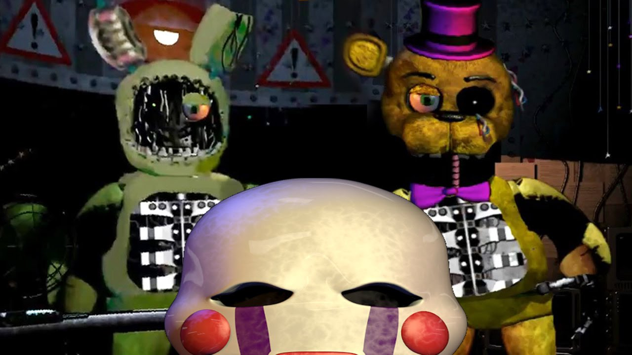 Fredbears family diner demo play now - Five Nights At Fredbears Family Diner 2 All Jumpscares