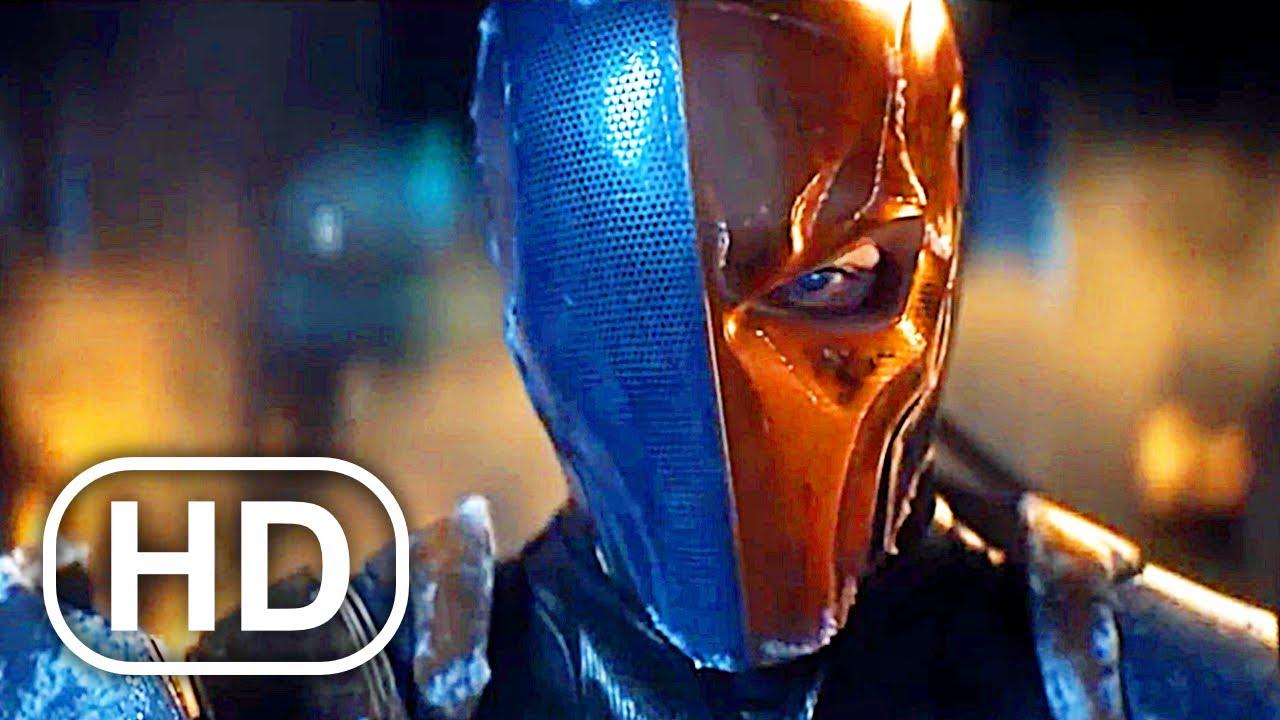 BATMAN Vs DEATHSTROKE Fight Scene Cinematic 4K ULTRA HD - Batman Arkham Origins Movie Cinematics