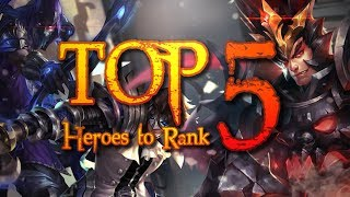 Arena of Valor [Top 5] Heroes to Rank With!!