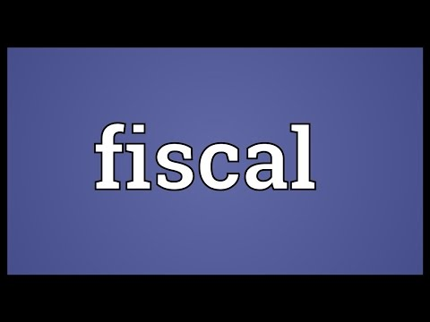 Fiscal Meaning