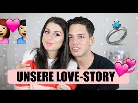 UNSERE LOVE STORY ♡ - so haben wir uns kennengelernt + intime Fragen beantworten l Sara Desideria