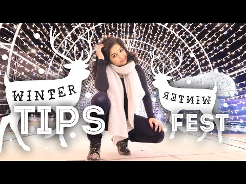 HOW TO | SURVIVE WINTER | Tips at Winter Festival | Aurora Fest | Life in Canada