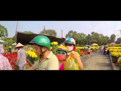 Đường phố Sài Gòn - Gia Định - Chợ Lớn nhộn nhịp đón Tết đến