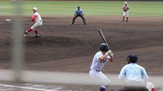 2017 高校野球 夏 智弁学園 エース 松本竜也君 thumbnail