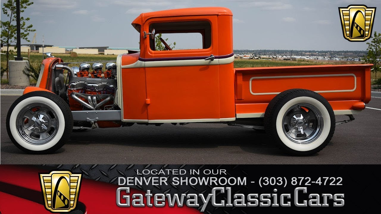1932 Ford Pickup STK# 127-Denver - YouTube