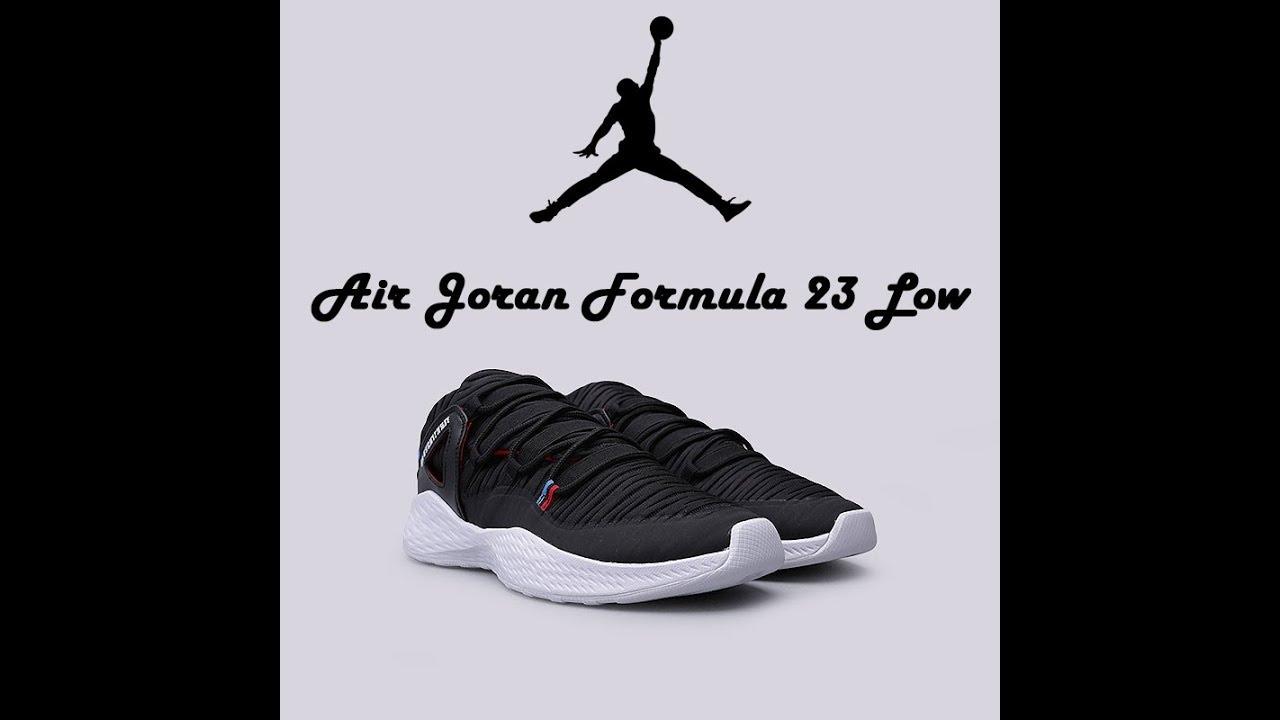 Aislar Nosotros mismos Post impresionismo  Air Jordan Formula 23 low on-feet - YouTube