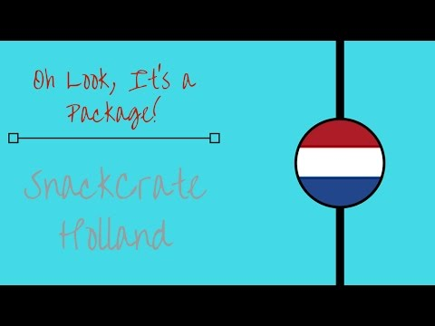 SnackCrate Holland | Oh Look, A Package!