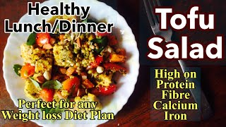 One of my favourite tofu salad recipe because it's so simple, delicious and extremely healthy. the mixed herbs, sesame tangy lemon dressing makes it even...